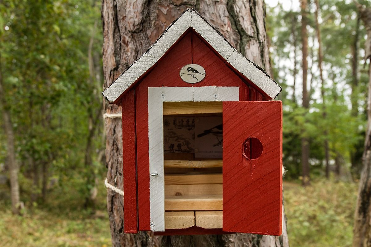 Outhouses for little birds